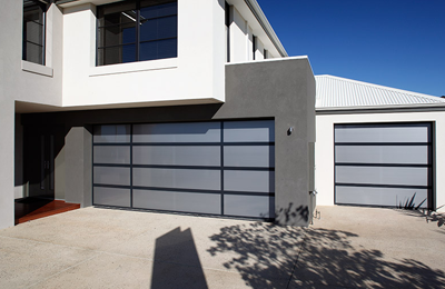 contemporary door range allstyle garage doors