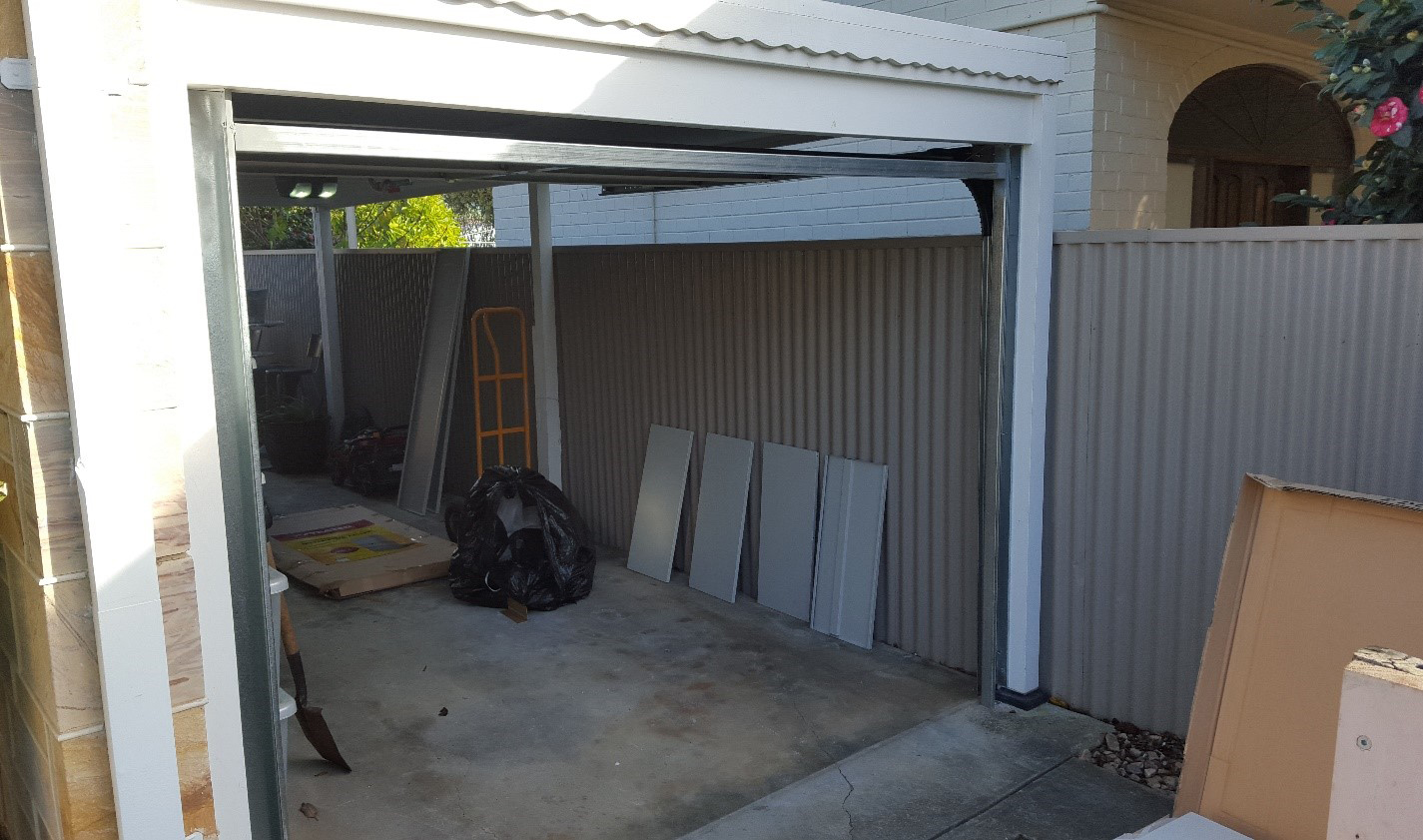 ASGD Shed and Carport Conversion
